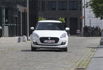 Suzuki Swift 1.0 Boosterjet : Coup de punch #1