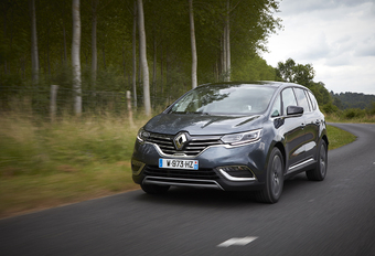Renault Espace 1.8 TCe : Extra power #1