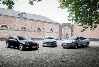 Volkswagen Arteon 2.0 TDI vs twee rivalen #1