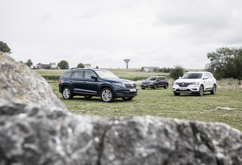 Middelgrote SUV'S : Do the cross-over #1