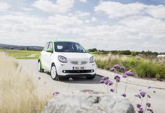 Smart Forfour Electric Drive : L'urbaine de l'avenir #1