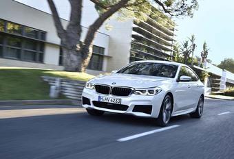 BMW 6 GT 2018 : Belle et fonctionnelle #1