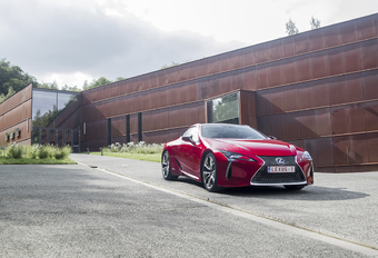 Lexus LC 500h : le supersport version hybride #1