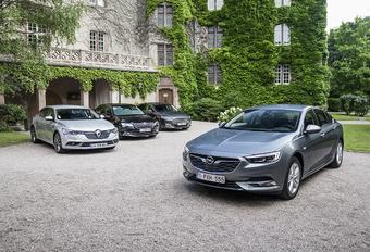 Opel Insignia tegen 3 rivalen #1