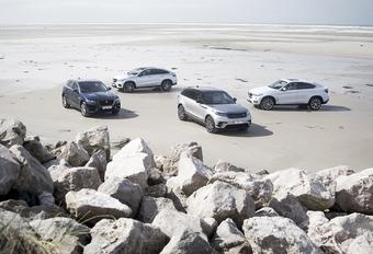 Range Rover Velar contre 3 rivaux #1