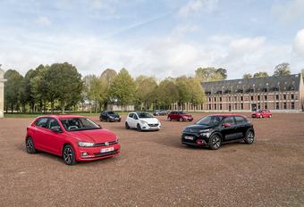 La Volkswagen Polo et la Ford Fiesta 2018 face à 5 rivales #1