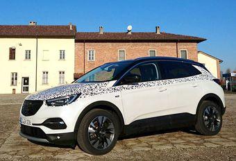 ESSAI EXCLUSIF – 177 ch pour l'Opel Grandland X #1