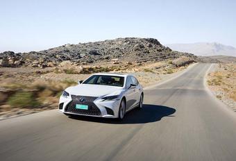 Lexus LS 500h 2018 : Du style et de l'audace #1