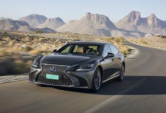 Lexus LS 500h (2017) #1