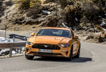 Ford Mustang : débourrage fin #1