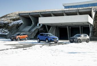 Opel Grandland X contre 2 rivales #1