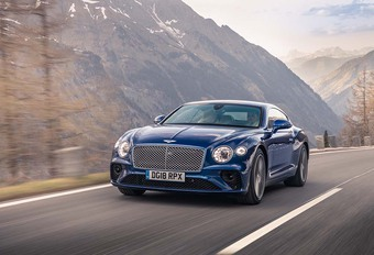 Bentley Continental GT 2018 : Métamorphose #1