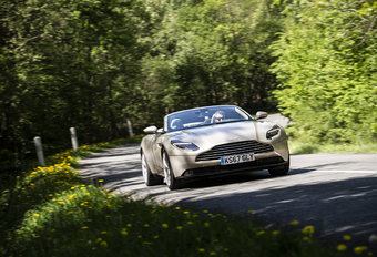 Aston Martin DB11 Volante : Cruisen in stijl #1