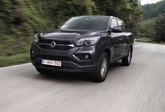 Ssangyong Musso 2.2 E-XDI 4x4 (2018) #1