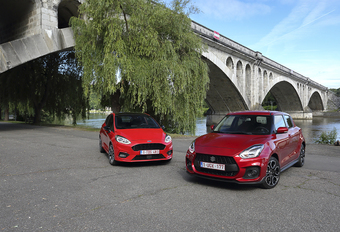 Ford Fiesta 1.0 EcoBoost 140 vs Suzuki Swift Sport #1