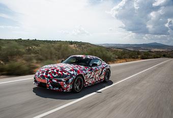 GR Toyota Supra (2019) – prototype #1
