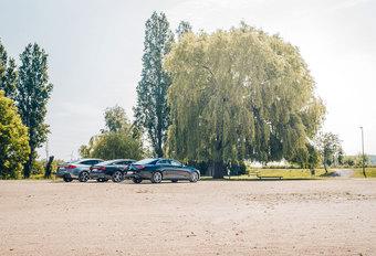 AUDI A7 SPORTBACK 50 TDI // BMW 630d GRAN TURISMO // MERCEDES CLS 350 d : Gentlemen drivers #1