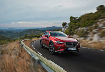 Mazda CX-3 : Refonte protocolaire #1
