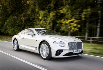 Bentley Continental GT : Dynamischer DNA #1