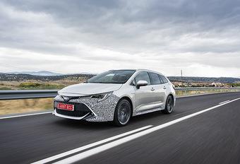 Toyota Corolla Touring Sports Hybrid (2018) - prototypetest  #1