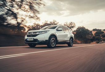 Honda CR-V Hybrid: Multimodaal #1