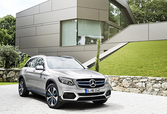 Mercedes GLC F-Cell : L'hydrogène Plug-In #1