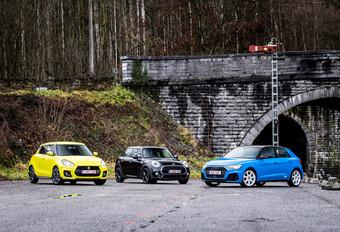 Audi A1 Sportback vs 2 rivales #1