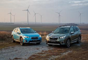 Subaru e-Boxer: Logische stap #1