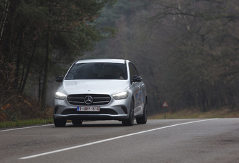 Mercedes B 200d : Crossover Hightec #1