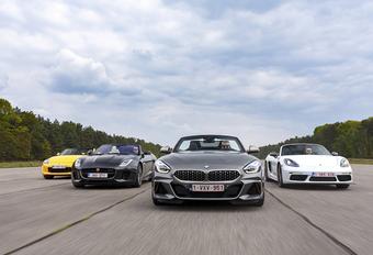 BMW Z4 contre 3 rivales #1