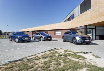 Elektrische luxe-SUV's : Boegbeelden #1