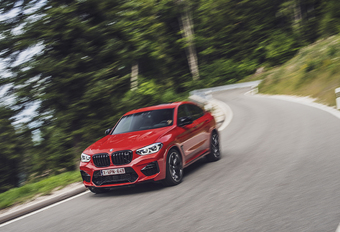 BMW X4 M Competition : Tegen de fysica in #1