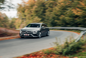 MERCEDES CLA 200 SHOOTING BRAKE : Hausjesmelkerij #1
