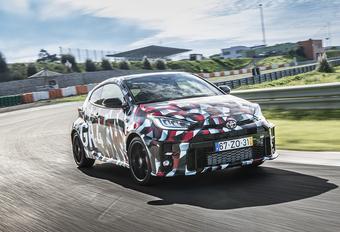 Toyota Yaris GR-4 (2019) - prototypetest #1
