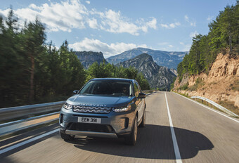 Land Rover Discovery Sport D240 (2020) #1