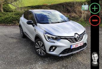 Renault Captur 1.3 TCe 155 EDC Initiale : avantages et inconvénients #1