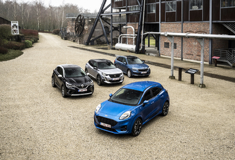 Ford Puma tegen 3 rivalen #1