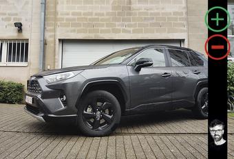 Toyota RAV4 2.5 Hybrid AWD-i: avantages et inconvénients #1