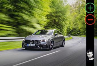 Wat vind ik van de Mercedes-AMG CLA 45 S? #1
