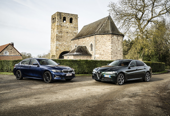 Alfa Romeo Giulia vs BMW 320i : 2 berlines «propulsion» #1