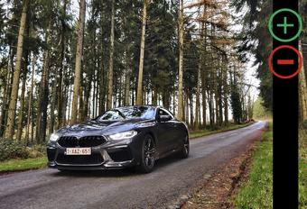 BMW M8 Competition: avantages et inconvénients #1