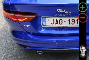 Jaguar XE: avantages et inconvénients #1