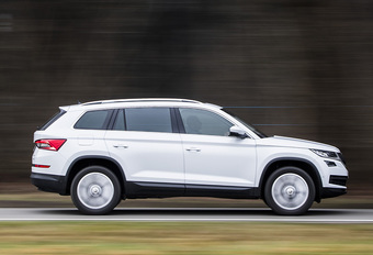 Avec le Kodiaq, Škoda joue coup double: il va surfer sur la vague des SUV tout en séduisant les grandes familles par ses 7 places.
