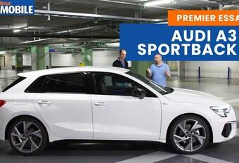 Le Moniteur Automobile a testé la nouvelle Audi A3 Sportback. Découvrez notre reportage !