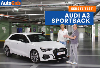 AutoGids test de nieuwe Audi A3 Sportback. Bekijk de video!