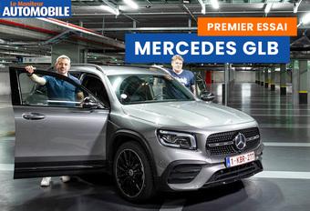 Le Moniteur Automobile a testé la nouvelle Mercedes GLB. Découvrez notre reportage !