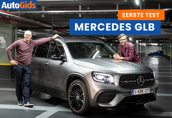 AutoGids test de nieuwe Mercedes GLB. Bekijk de video!