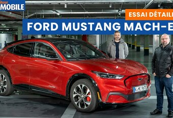 Le Moniteur Automobile a testé la Ford Mustang Mach-E de 2021. Regardez notre essai vidéo du SUV électrique au nom légendaire.