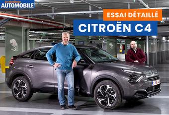 Le Moniteur Automobile a testé la nouvelle Citroën C4. Regardez notre essai vidéo.