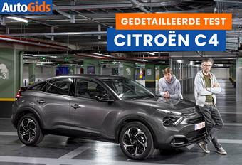 AutoGids test de Citroën C4. Bekijk onze video van de Franse hatchback met SUV-allures.